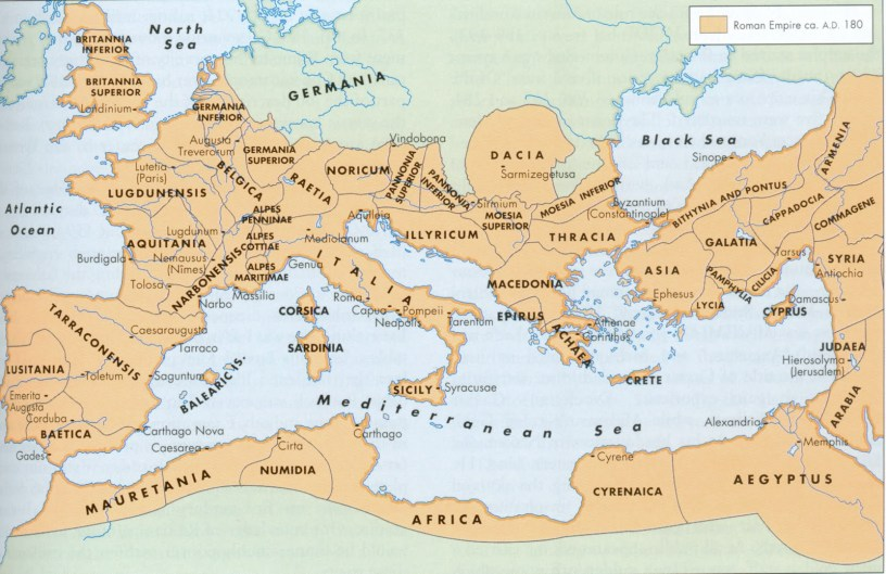Roman Empire 180 AD