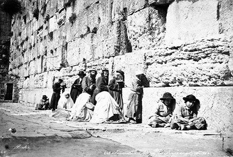 Worship at Western Wall 1870s.jpg