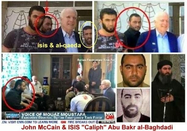 Image result for john mccain abu bakr al-baghdadi