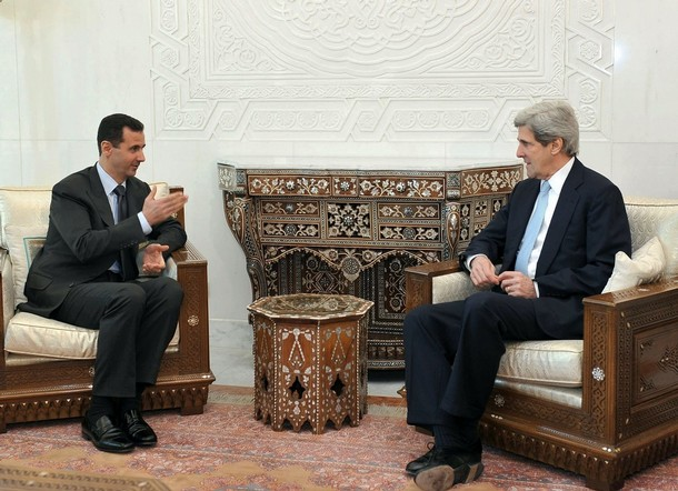 John Kerry with Bashar al-Assad.jpg